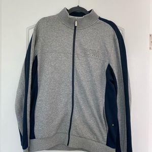 Hugo boss zip up hoodie